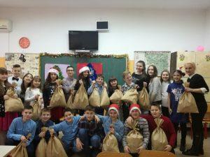 Humanitarna akcija naših učenika